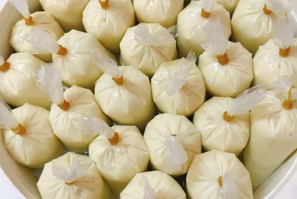 Cách làm Sữa chua Sầu Riêng tại nhà đơn giản (đóng túi) 47
