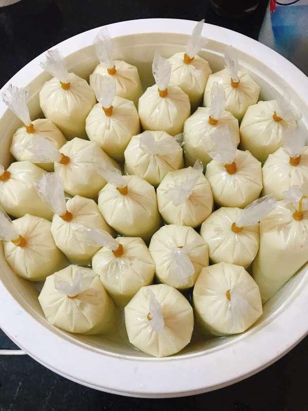 Cách làm Sữa chua Sầu Riêng tại nhà đơn giản (đóng túi) 5