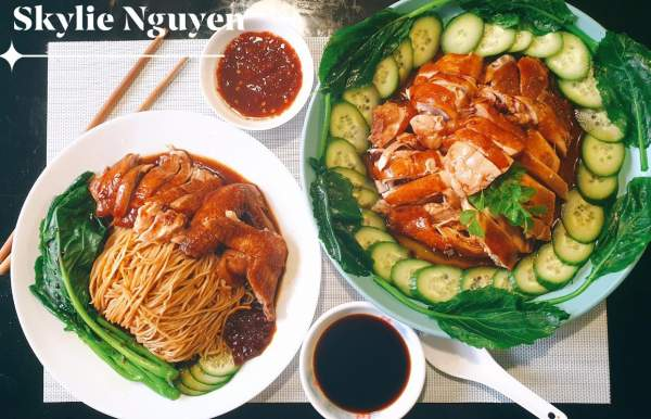 [Công Thức] Cách làm Soya Sauce Chicken Noodles 8