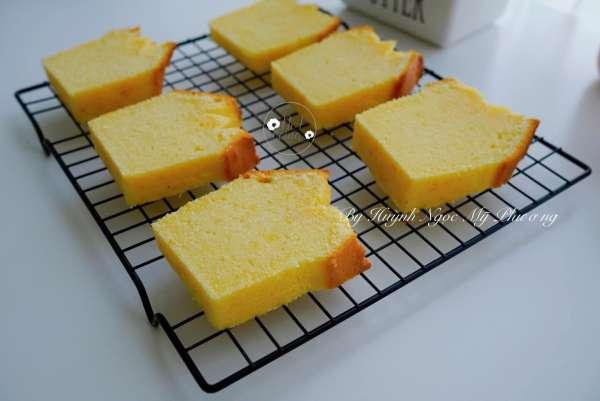 [Công Thức] Cách làm bánh Butter Cake 3