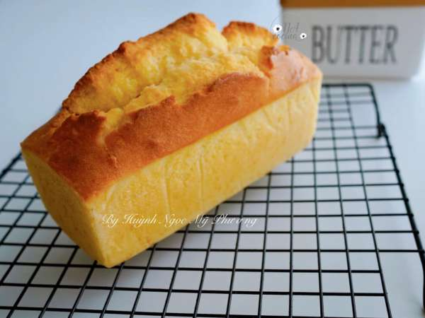 [Công Thức] Cách làm bánh Butter Cake 2