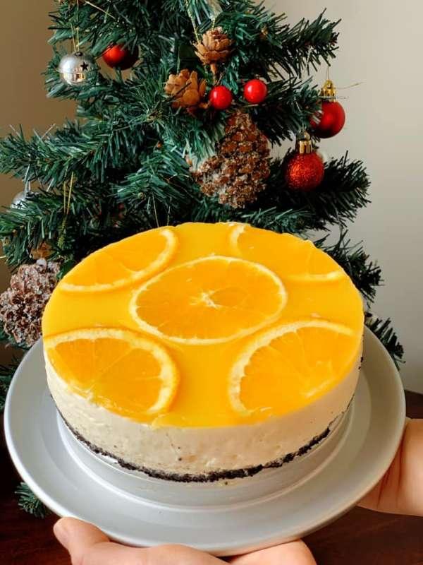 [Công Thức] Cách làm bánh Cheese Cake Cam đẹp ngon xịn xò 2