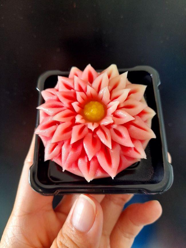 Cách làm bánh Wagashi - Công thức chuẩn vị Wagashi (Nerikiri) Nhật Bản - Đẹp mắt dễ làm 6