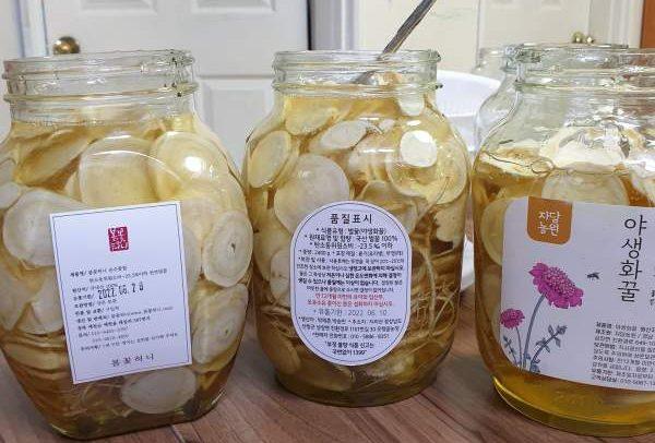 Cách làm bình Sâm ngâm mật ong uống quanh năm 24