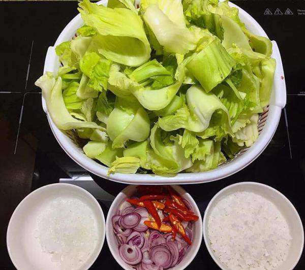 Cách làm dưa cải muối chua tại nhà cực ngon 2