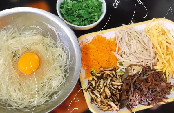 Cách làm món Bánh mì miến Hải Dương 55