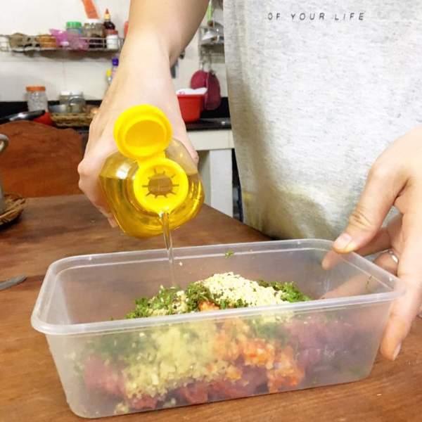 [Công Thức] Cách làm món Bò nướng lá cách 11