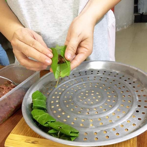 [Công Thức] Cách làm món Bò nướng lá cách 13
