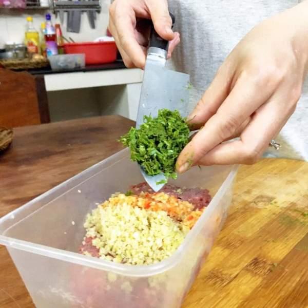 [Công Thức] Cách làm món Bò nướng lá cách 8