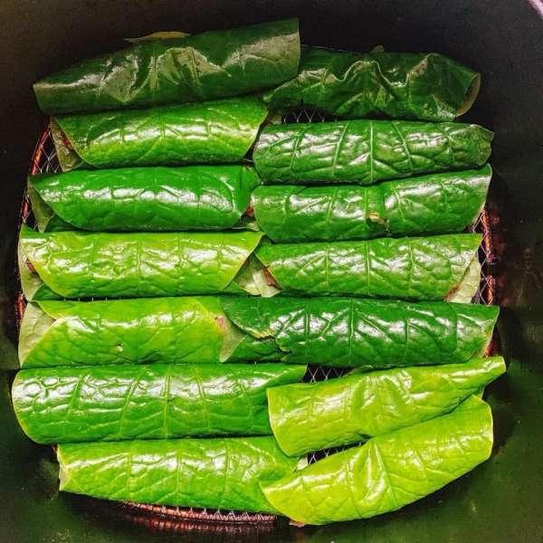Cách làm món Bò nướng lá lốt - Bò nướng cuộn lá lốt 4