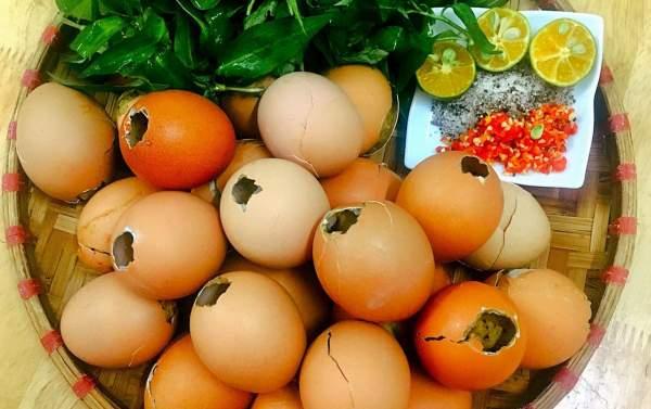 Cách làm món Trứng Nướng