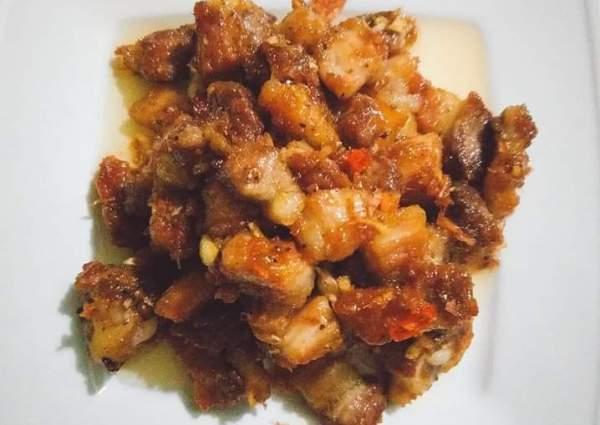 Cách làm món thịt chưng mắm tép tại nhà 1