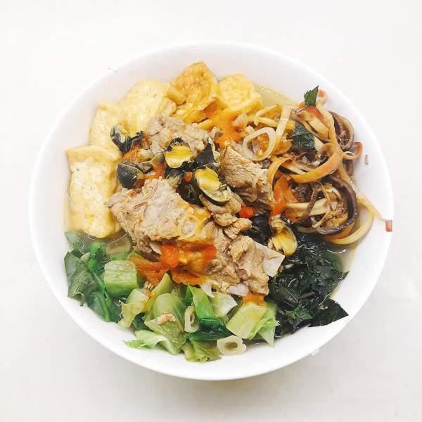 Cách nấu Bún Ốc Sườn tại nhà ngon, món đặc biệt của Hà Thành 3