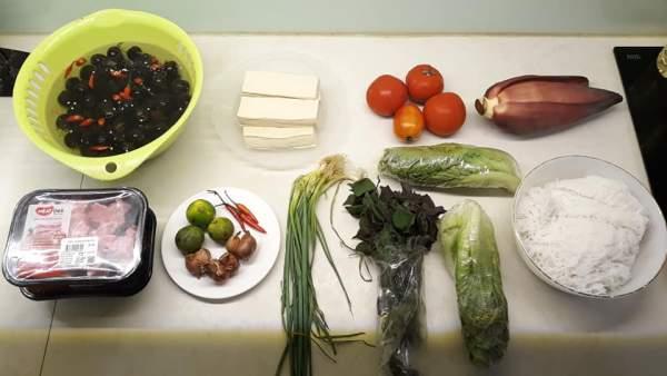 Cách nấu Bún Ốc Sườn tại nhà ngon, món đặc biệt của Hà Thành 4