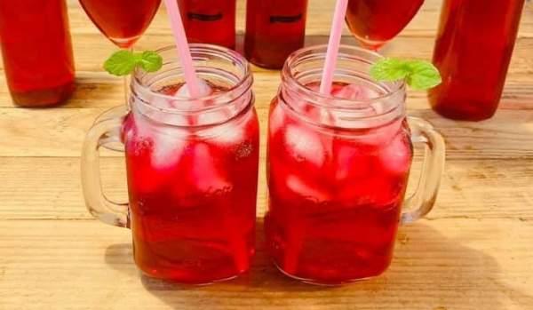 Tác dụng nước là tía tô ? Cách nấu NƯỚC LÁ TÍA TÔ uống đẹp da 10