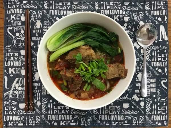 [Công Thức] Cách nấu mỳ bò Đài Loan, lạ, đậm vị 3