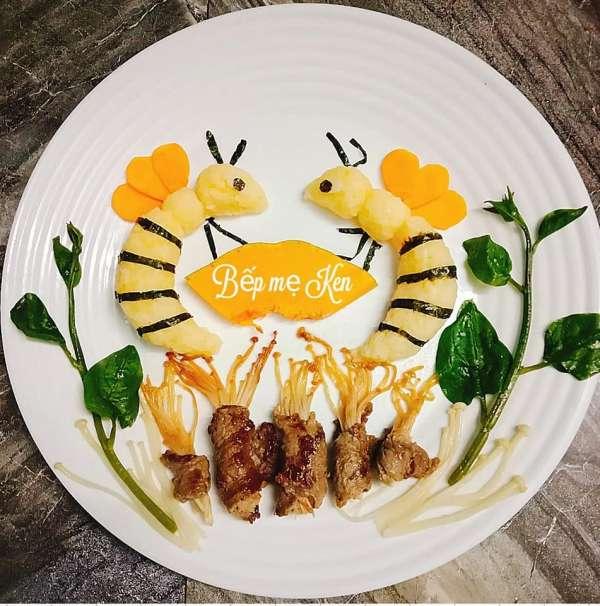 Cơm Bento cho bé - Cách trang trí cơm Bento cho bé xinh ngon 7