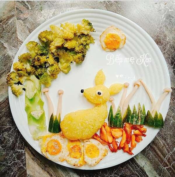 Cơm Bento cho bé - Cách trang trí cơm Bento cho bé xinh ngon 6