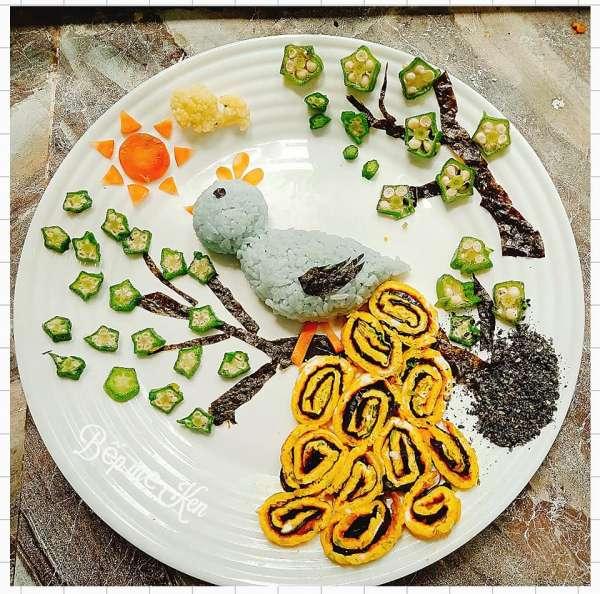 Cơm Bento cho bé - Cách trang trí cơm Bento cho bé xinh ngon 3