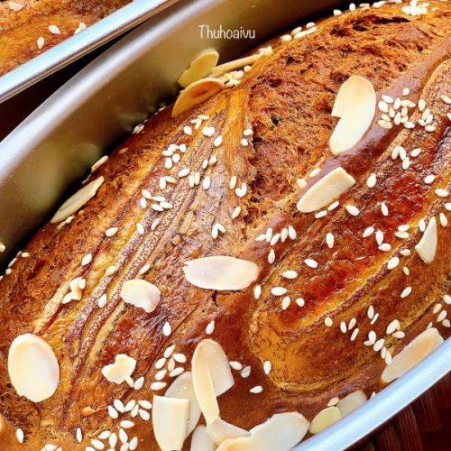 Công Thức BÁNH CHUỐI NƯỚNG NGON BẤT BẠI - Cách làm Bánh Chuối Nướng 9