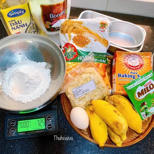 Công Thức BÁNH CHUỐI NƯỚNG NGON BẤT BẠI - Cách làm Bánh Chuối Nướng 3