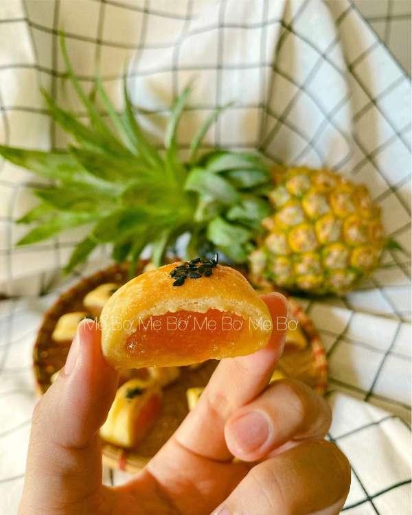 Công Thức Bánh dứa Đài Loan cực xịn sò 3