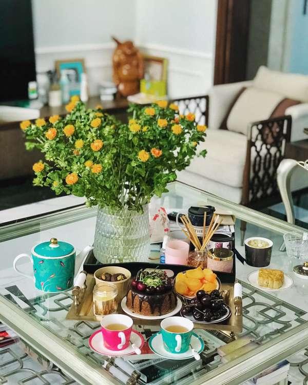 Công Thức Bánh quy bơ vị trà bá tước với hoa oải hương 5