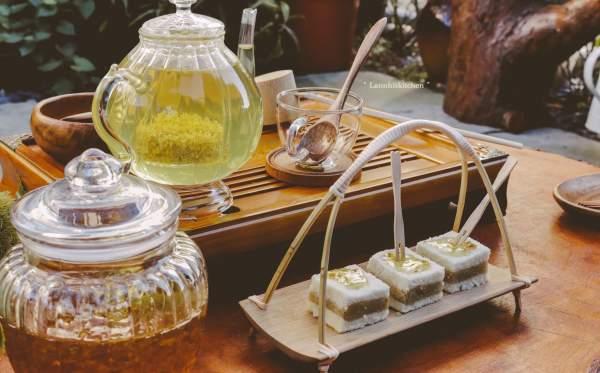 [Công Thức] Cách làm BÁNH QUẾ HOA | Sweet osmanthus cake 13
