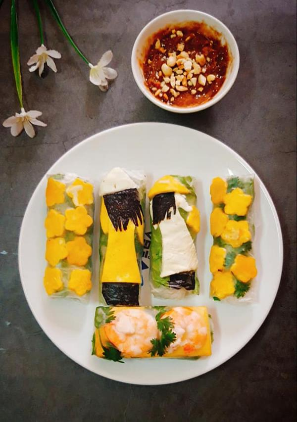 [Công Thức] Cách làm Gỏi cuốn - món ăn thanh mát của Việt Nam 5