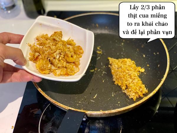 [Công Thức] Cách làm Mỳ Ý Cua Pizza 4P -Crab Spaghetti 17