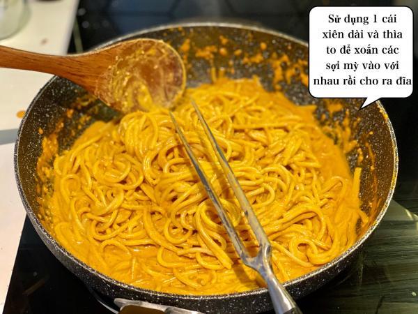 [Công Thức] Cách làm Mỳ Ý Cua Pizza 4P -Crab Spaghetti 20