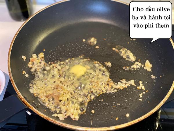 [Công Thức] Cách làm Mỳ Ý Cua Pizza 4P -Crab Spaghetti 5