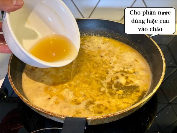 [Công Thức] Cách làm Mỳ Ý Cua Pizza 4P -Crab Spaghetti 8