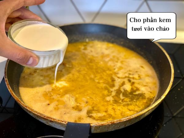 [Công Thức] Cách làm Mỳ Ý Cua Pizza 4P -Crab Spaghetti 9