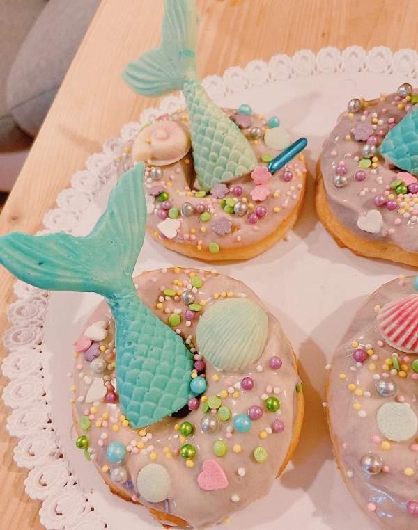 [Công Thức] Cách làm bánh DONUT Nướng xinh cute 4