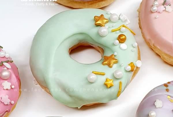 [Công Thức] Cách làm bánh Donut - SUGAR DOUGHNUT 10