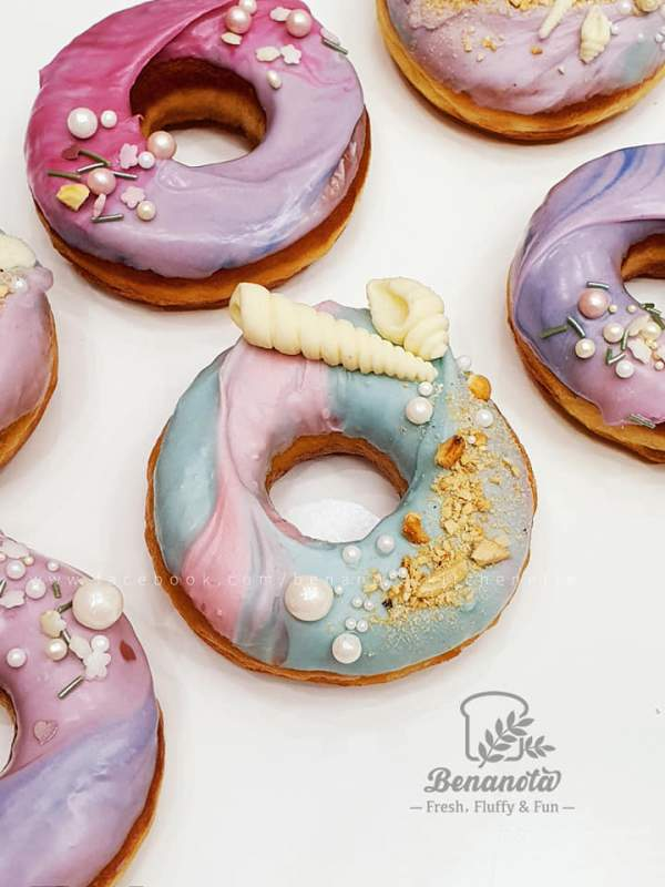 [Công Thức] Cách làm bánh Donut - SUGAR DOUGHNUT 2