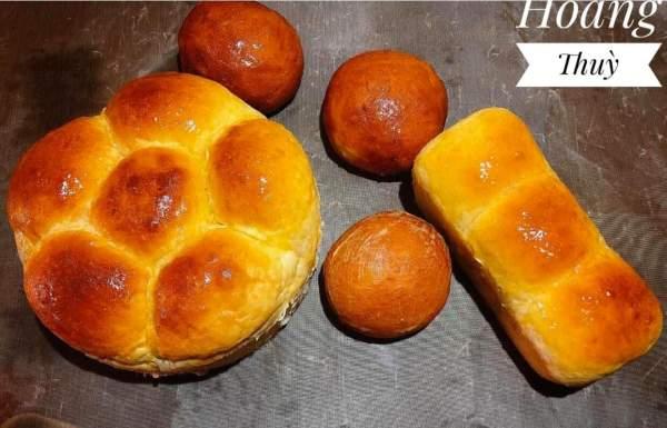 [Công Thức] Cách làm bánh mì ngọt bơ sữa 3