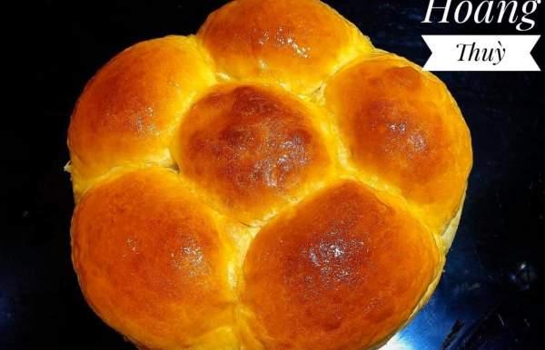 [Công Thức] Cách làm bánh mì ngọt bơ sữa 10