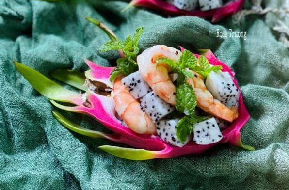 [Công Thức] Cách làm món Salad Tôm Thanh Long 11