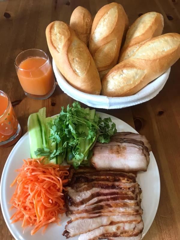 [Công Thức] Làm bánh mì Việt Nam lai kiểu Pháp Mỹ, Cách làm Bánh mỳ Baguette 3