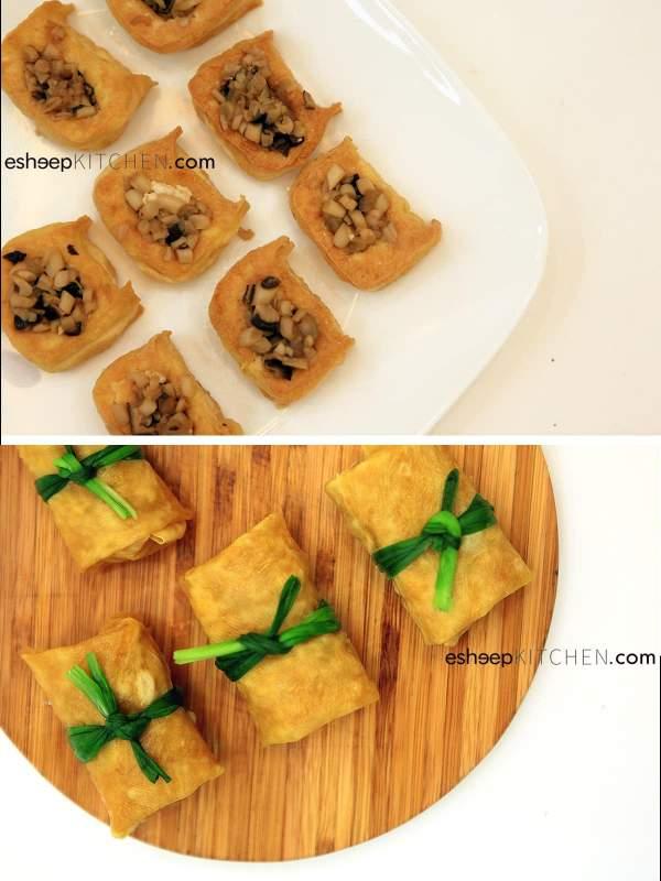 [Công Thức Món Ăn Chay] Cách làm Đậu Hũ Ky Khìa Nước Dừa 3