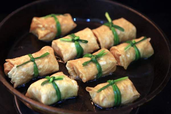 [Công Thức Món Ăn Chay] Cách làm Đậu Hũ Ky Khìa Nước Dừa 2