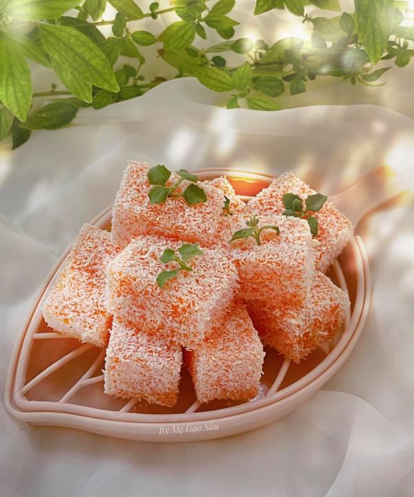 Công thức Cách làm Bánh Cà Rốt cute siêu dễ làm 2