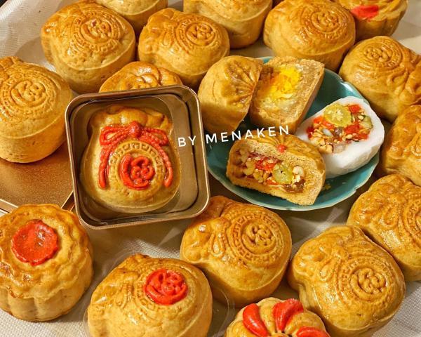 [Công thức] Cách làm Bánh Trung Thu truyền thống siêu ngon và dễ dàng 13