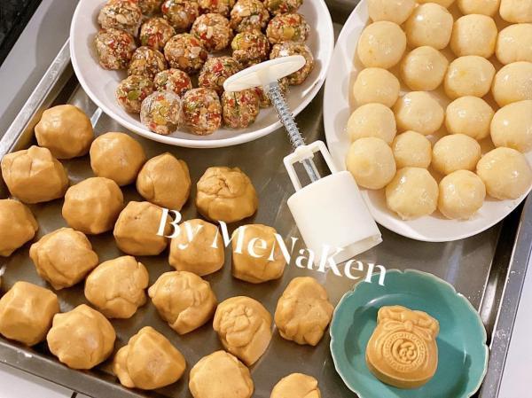 [Công thức] Cách làm Bánh Trung Thu truyền thống siêu ngon và dễ dàng 11