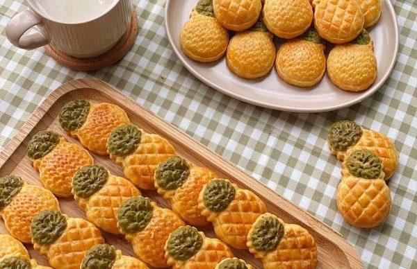Công thức Cách làm Bánh dứa đài loan 1