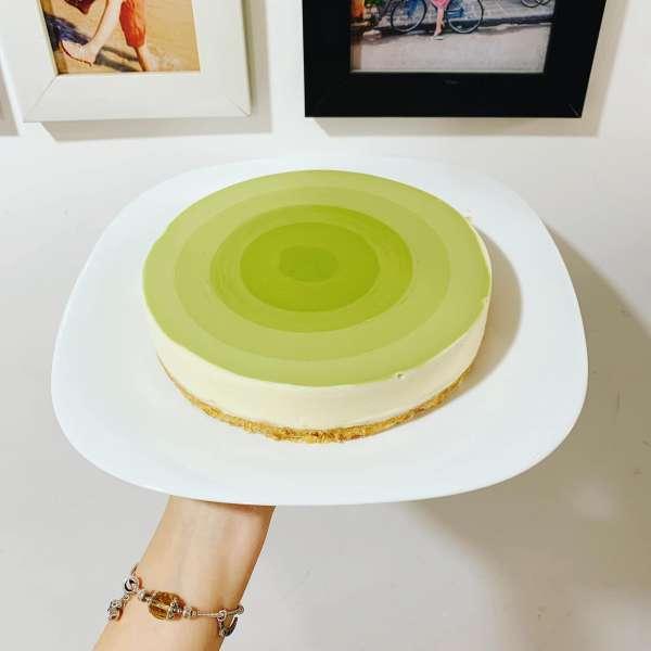 Công thức bánh Mousse Trà Xanh - MATCHA MOUSSE CAKE 2