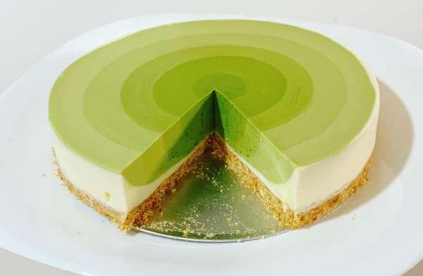 Công thức bánh Mousse Trà Xanh - MATCHA MOUSSE CAKE 21
