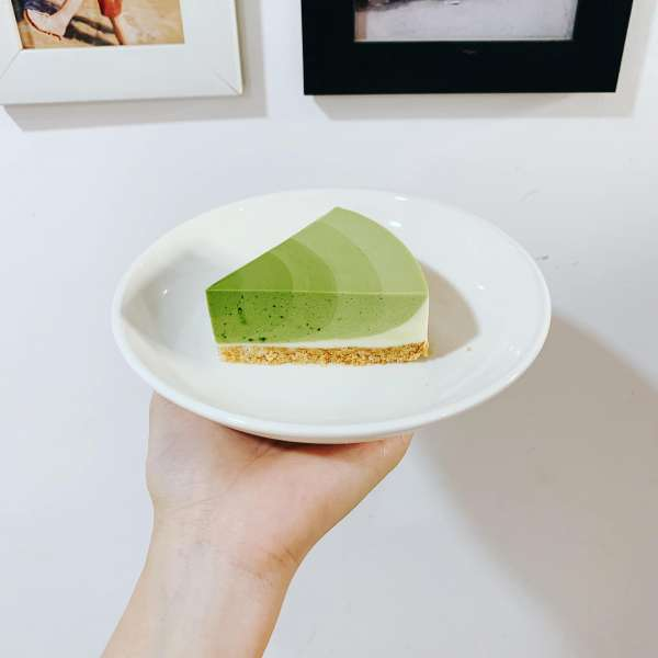 Công thức bánh Mousse Trà Xanh - MATCHA MOUSSE CAKE 4